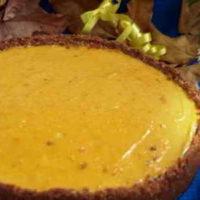 Осенние рецепты: тыквенный чизкейк без муки