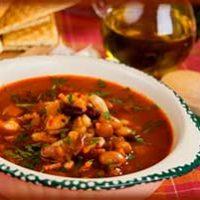 Фасолевый суп с мясом