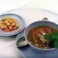 Суп-пюре «Царская охота»