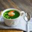 Огуречный суп с креветками