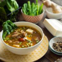 Острый сычуанский суп