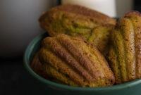 Французские Мадлен с фисташковой (ореховой) пастой