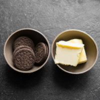 Нежный воздушный десерт из шоколада и маршмеллоу