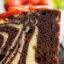 Зебра — самый правильный мраморный кекс