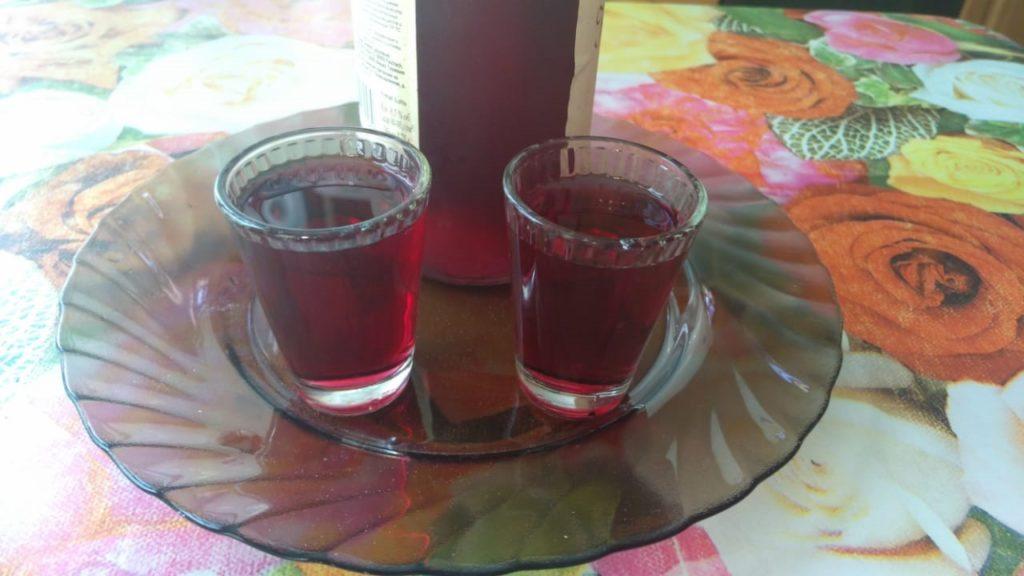 настойка из красного винограда