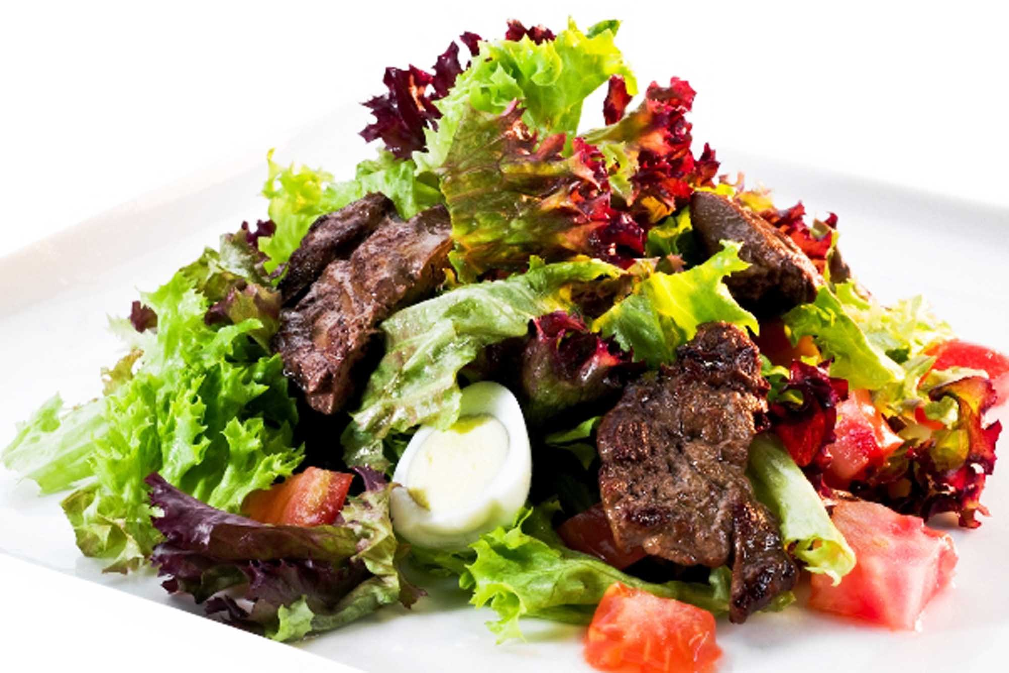 Новогодний салатик «Зимушка»