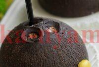 Тропический десерт с кокосом и шоколадом