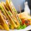 Идея завтрака: клубный сендвич