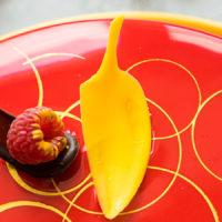 Муссовый торт «Китайский Император» с малиной, грушей и шоколадом