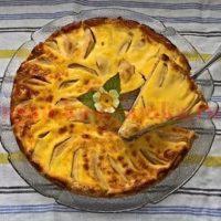 Французский яблочный тарт из глубин истории